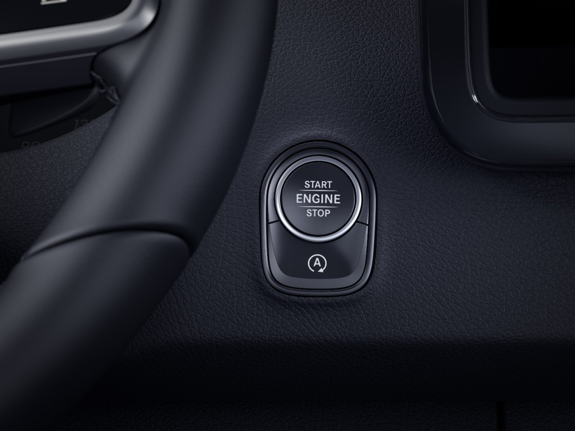Sprinter automobilis su platforma su bortais, KEYLESS-START